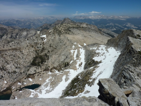 View northeast from Mt. Hoffmann summit; photo courtesy of Bob Burd